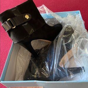 "Antonio Melani 3"" heeled Black Boots"